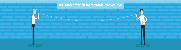 Be Proactive in Communicating | Improve Customer Service