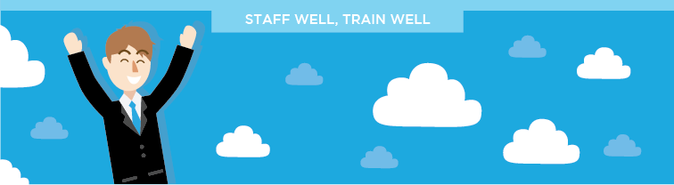 Staff well, Train Well | Improve Customer Service