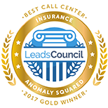 LeadsCouncil 2017 Best Call Center - Insurance