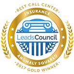 LeadsCouncil 2017 Best Call Center - Insurance